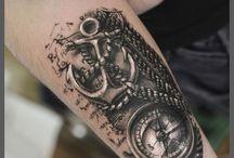 Τατουάζ με άγκυρες