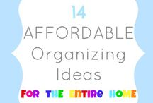 Maintain a Happy Home / Tips to help get your home organized.