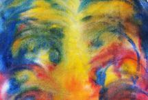 Painting contemporary / Kortárs alkotás. Vászon, olajfestmény