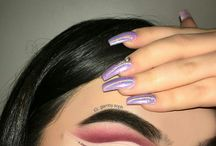oczy make up