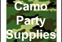 Camo Party Supplies / All camo party supplies!  Great ideas, decorations, and supplies for a camo party or redneck party  #camopartysupplies / by potpiegirl