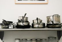 The Kitchen / Beautifully displayed kitchens and cooking spaces