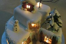 pasteles de navidad fondant