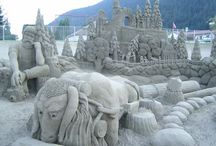 Art: Sand sculptures
