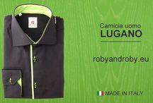 Hot men's shirt - Camicia uomo hot / Special and commemorative editions shirts. High-quality shirts - Camicie uomo Speciali e Celebrative Roby and Roby.  Camicie cucite e confezionate artigianalmente.
