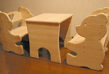 Kinderen speel en meubel