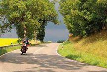 routes / motorrijden