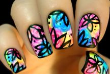 Mandalas nails