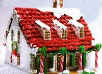 gingerbread house extraveganza / by Sarah Anderson