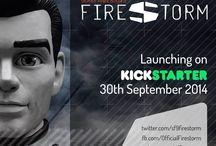 Gerry Anderson's Firestorm / Filmed in Ultramarionation!