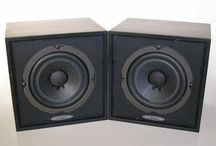 Auratone 5C Super Sound Cubes / Recording monitors for the real world.