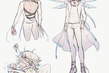 ángeles y clérigo