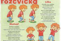Rozcvičky pre deti
