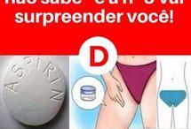 Dicas com aspirina