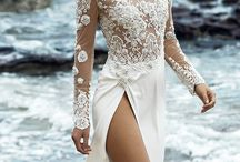 Sheer illusion wedding dresses
