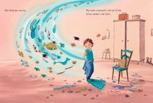 Children's book illustrations / My favourite children's book illustrations, when a picture says as much is not more than the words.