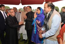 Republic Day Celebrations / Meeting the Presidents at Rashtrapati Bhavan during Republic Day Celebrations