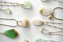 Sea glass and Jewelry Ideas