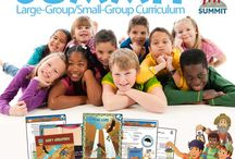 Elementary: Summit LG.SG / Resources for Sunday school ages 6-12 gathered together in a large group/small group format