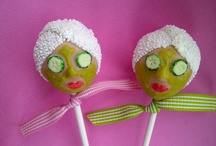 Pamper party cake pops