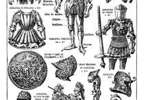 középkori ruhák