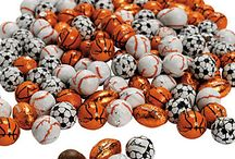Sports Parties / Make your next football party or sports theme party fun with chocolates from R.M. Palmer Company.