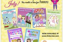 10 New Fun & Inspiring Journals for Girls! / We are excited to announce the launch of 10 new journals this month in time for Summer 2015! These are now available at our website www.tinkerstar.com! #tinkerstar   #journals   #girls   #writing   #summeractivities