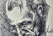 Dibujos Alfonso† / Tributo a mi hermano Alfonso†