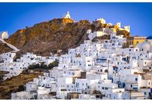 Villages in Serifos - Οικισμοί στη Σέριφο / www.Discover-Serifos.com | The villages of Serifos are perfect examples of Cycladic architecture, with their bright white houses and paved narrow alleys. | Oι οικισμοί της Σερίφου αποτελούν άριστα δείγματα Κυκλαδίτικης αρχιτεκτονικής, με τα ολόλευκα σπίτια και τα πλακόστρωτα σοκάκια τους.