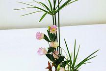 Ikebana / The Japanese art of flower arrangement