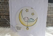 Stampin moonbaby