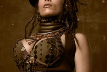 Steam Punk Couture  / Next studio shoot 