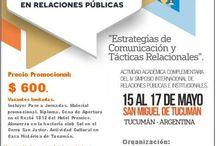 Jornadas de Relaciones Públicas en Tucumán / Imágenes de las Jornadas de Relaciones Públicas en Tucumán. Argentina.