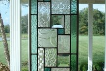 stained glass ideas / by PEGGY RUPERT