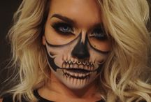 Body/Face Paint Halloween Makeup / Body and Face Paint based Halloween ideas
