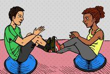 Partner up workouts