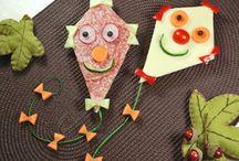 τέχνη στο παιδικό φαγητό