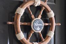 Captains Cabin Decor
