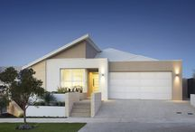 The Midsummer / The striking front elevation sets this home design apart from the crowd.