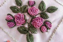 Rococco embroidery