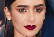 My Obsession: Lilly Collins AND her eyebrows