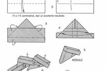 Origami, Papel, Paramétrico