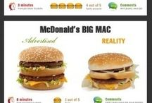Unhealthy foods exposed