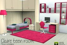 The Sims 4 bedroom downloads