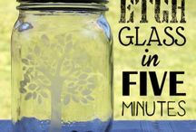 DIY & Crafts: Glass Jars / Does anybody else have a surplus of glass jars? Hate throwing them away but can't find enough projects to do with them? This is the ultimate list of glass jar projects from old jam jars and wine bottles to big mason jars!