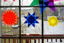 Waldorf Paper Window Star Tutorial
