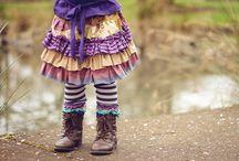 Little Girl Clothes  / by Stephanie Bean