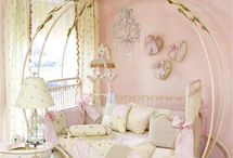 Little girl rooms! / by Tammy DeRitis Adkins
