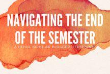 [ End of the semester & Graduation! ]