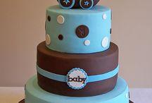 Baby girl born cake